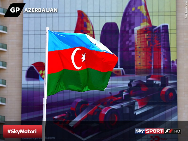 GP Azerbaijan: via al weekend, gli orari in TV