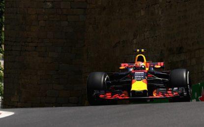 Azerbaijan: doppietta Red Bull nelle prime libere