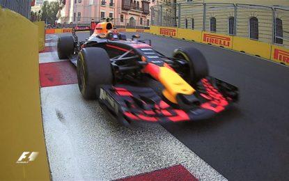 Azerbaijan: Verstappen anche nelle FP2, Ferrari 4° e 5°
