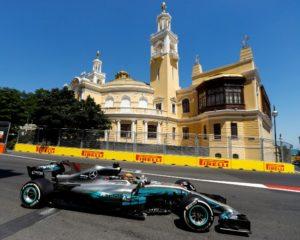 Azerbaijan: pole incredibile di Hamilton, Ferrari 3° e 4°