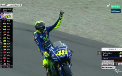 Breaking news: Valentino Rossi vince il GP d'Olanda