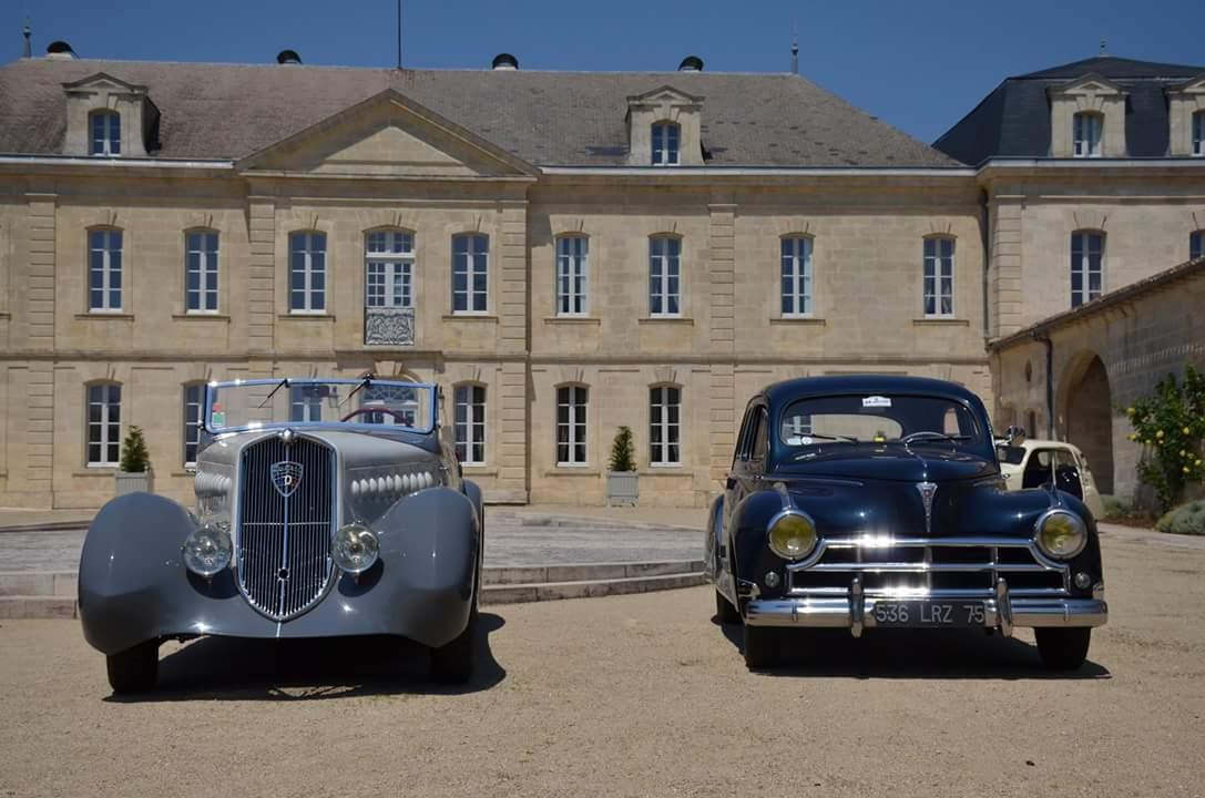 L'Aventure Peugeot sfila a Bordeaux
