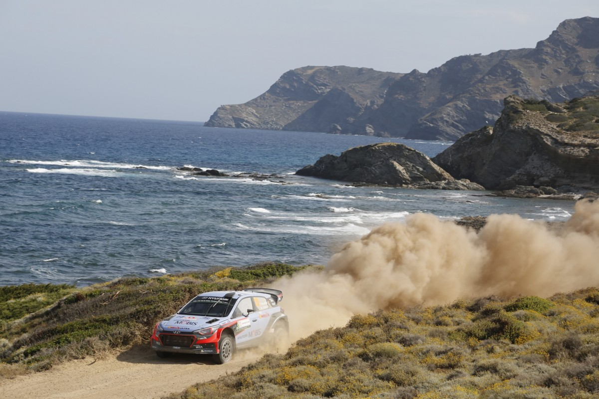 WRC: Hyundai Motorsport al Rally Italia Sardegna
