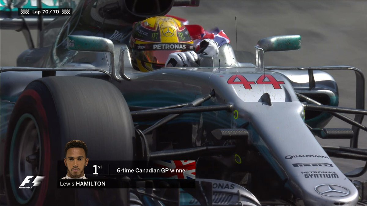 F.1 - Montréal, gara: Hamilton fa il vuoto, Vettel limita i danni