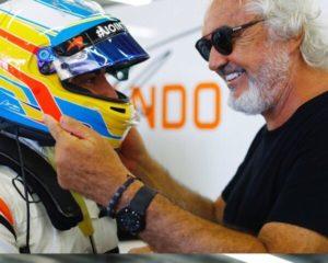 Briatore spera che Alonso torni sul podio nel 2018