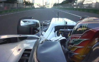 Mercedes si assume la colpa della protezione testa