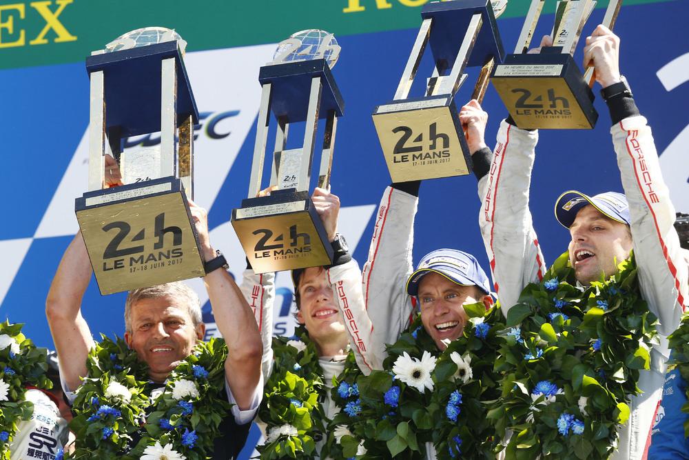 Porsche: il grande trionfo in rimonta a Le Mans