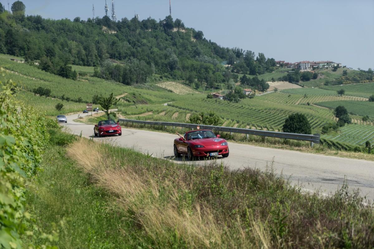 """Mazda MX-5: """"Andar per Langhe 2017"""""""