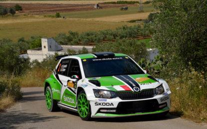 Rally del Salento: podio per Skoda nella tappa 1