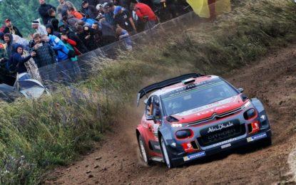 WRC: Rally di Polonia nel segno del fango