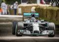 Anche Nico Rosberg al Goodwood Festival of Speed