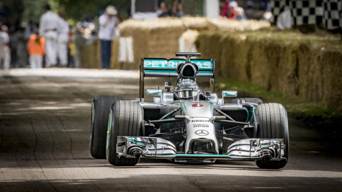 Anche Nico Rosberg al Goodwood Festival of Speed