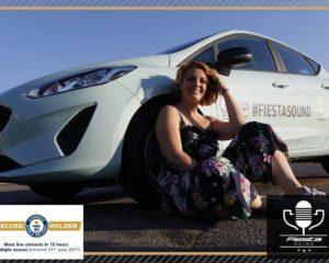 Fiesta Sound e Noemi: un'auto e una voce da record