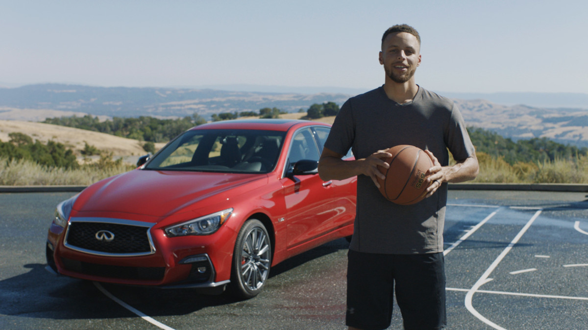 INFINITI e Stephen Curry: partnership mondiale