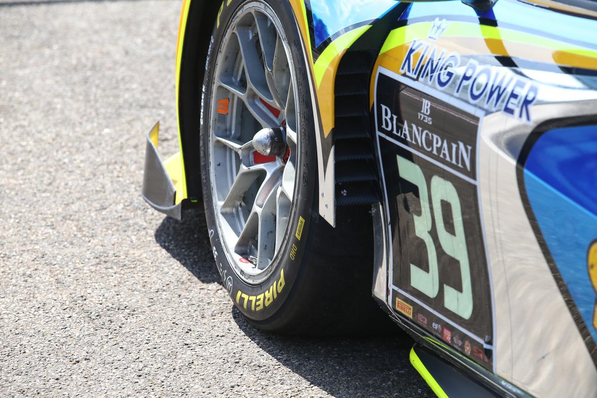 Il team Audi WRT vince la qualifying race a Zolder