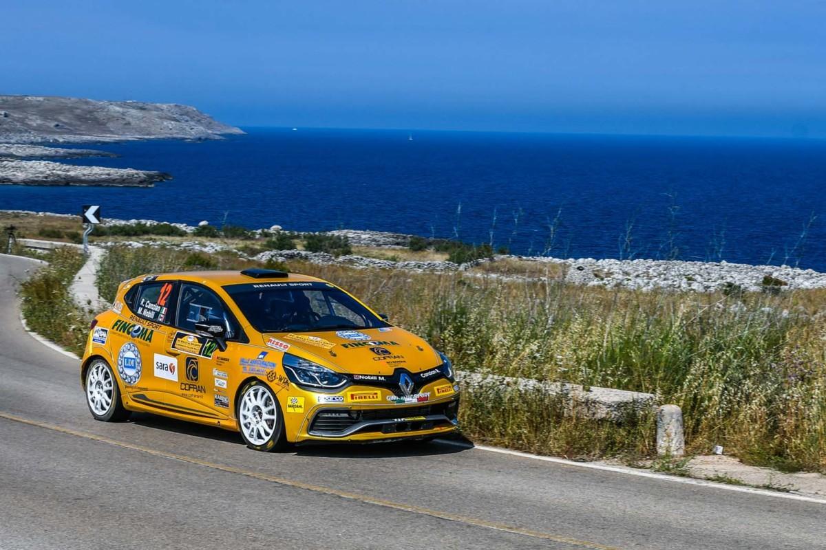 Rally del Salento: il bilancio dei Trofei Renault