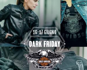 Dark Friday, un weekend dedicato allo stile Harley