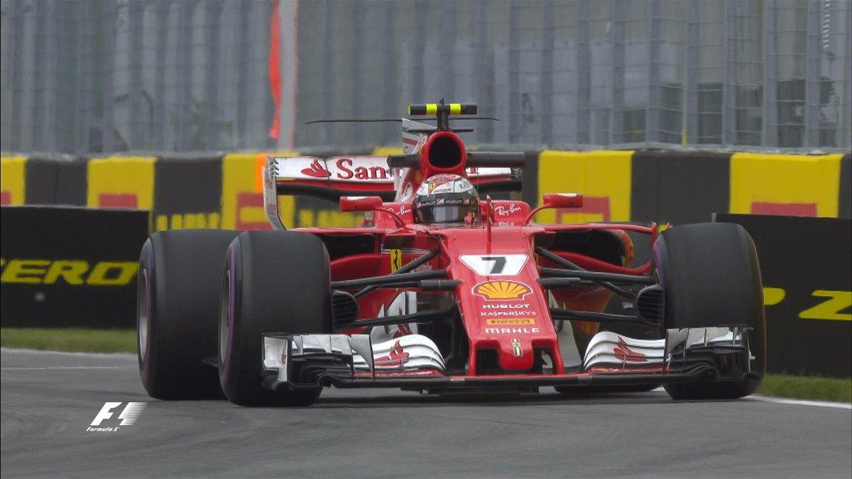 Canada: Raikkonen-Hamilton al termine delle libere