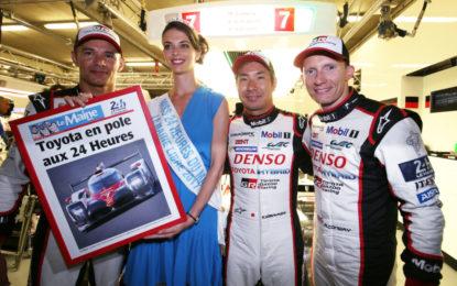 Le Mans: pole da record per Toyota Gazoo Racing