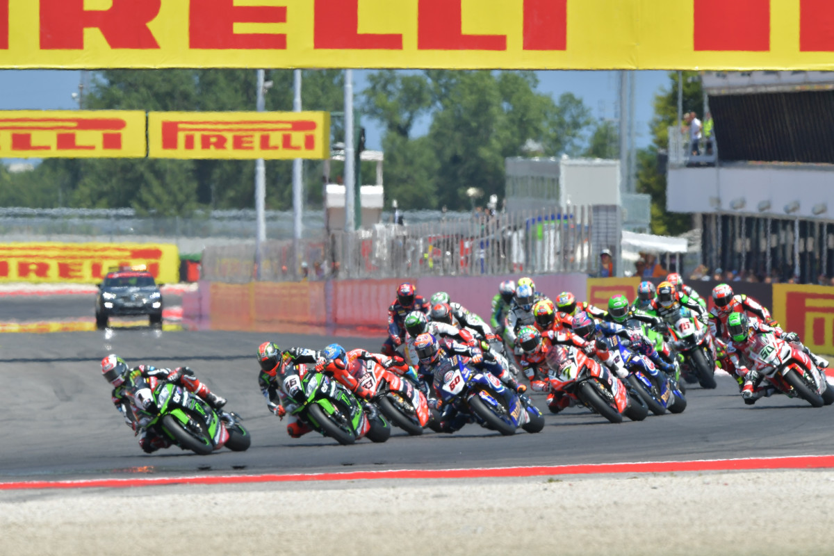 Mondiale Superbike: gara 1 a Misano a Tom Sykes