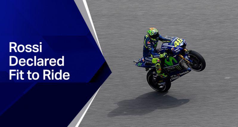 MotoGP: Valentino Rossi potrà correre al Mugello