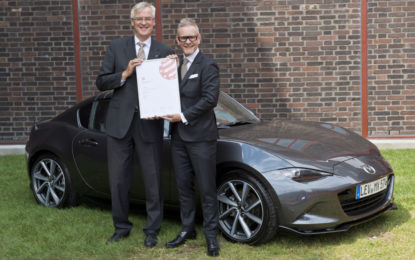 Mazda MX-5 RF riceve il Red Dot Best of the Best