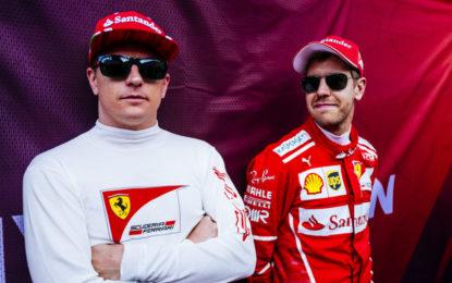 #BritishGP: Vettel e Raikkonen innamorati di Silverstone