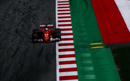 Austria: prove di assetto nelle FP1 per la Ferrari