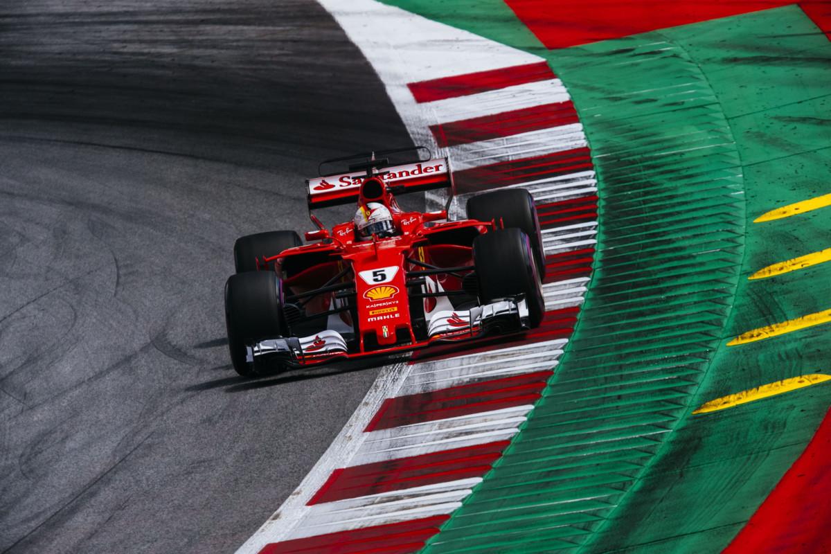 #AustrianGP: Ferrari in seconda e terza posizione