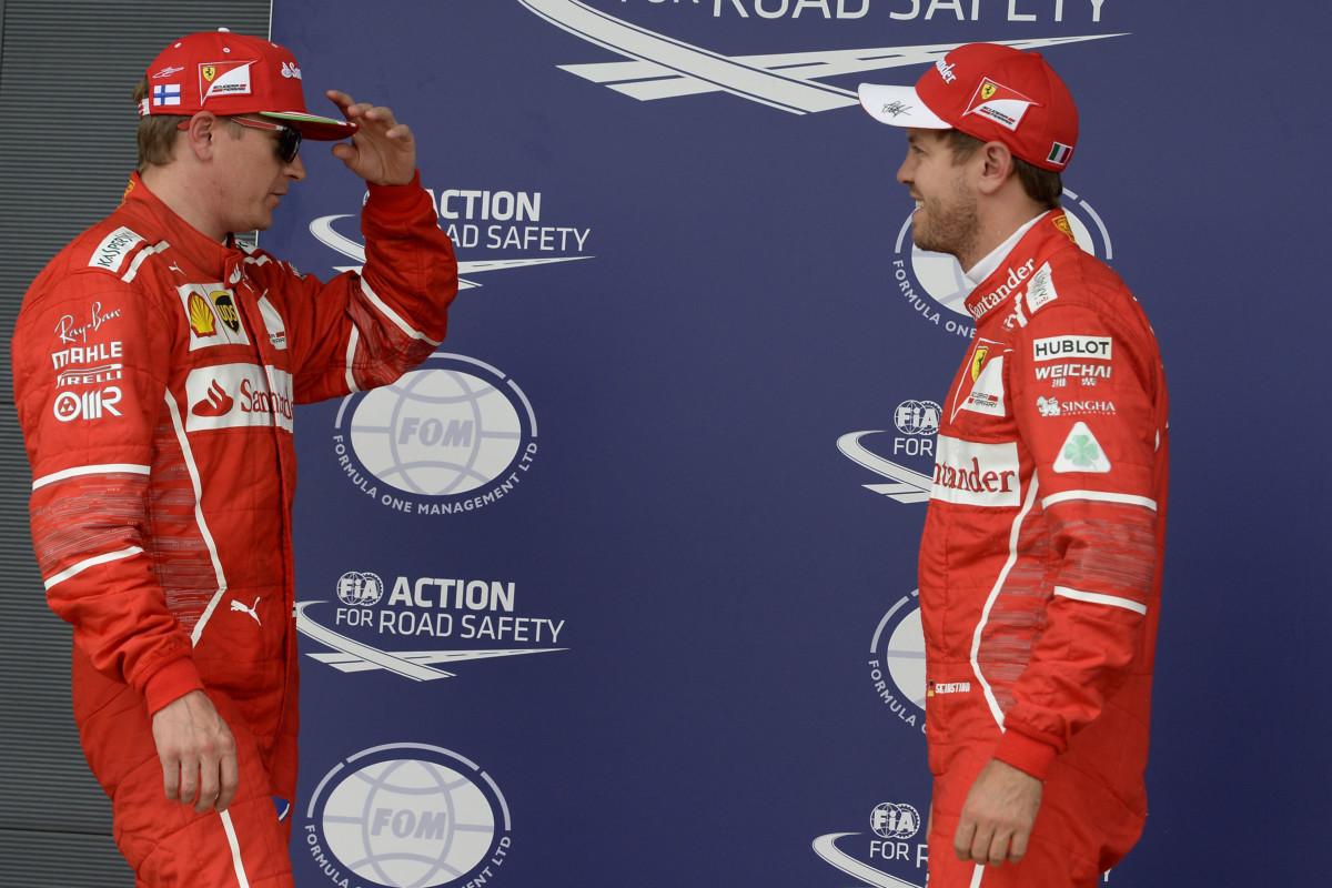 #BritishGP: Ferrari 2° e 3° con Raikkonen e Vettel in qualifica