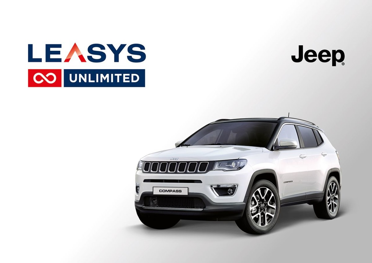 Con Leasys la Jeep Compass è… UNLIMITED