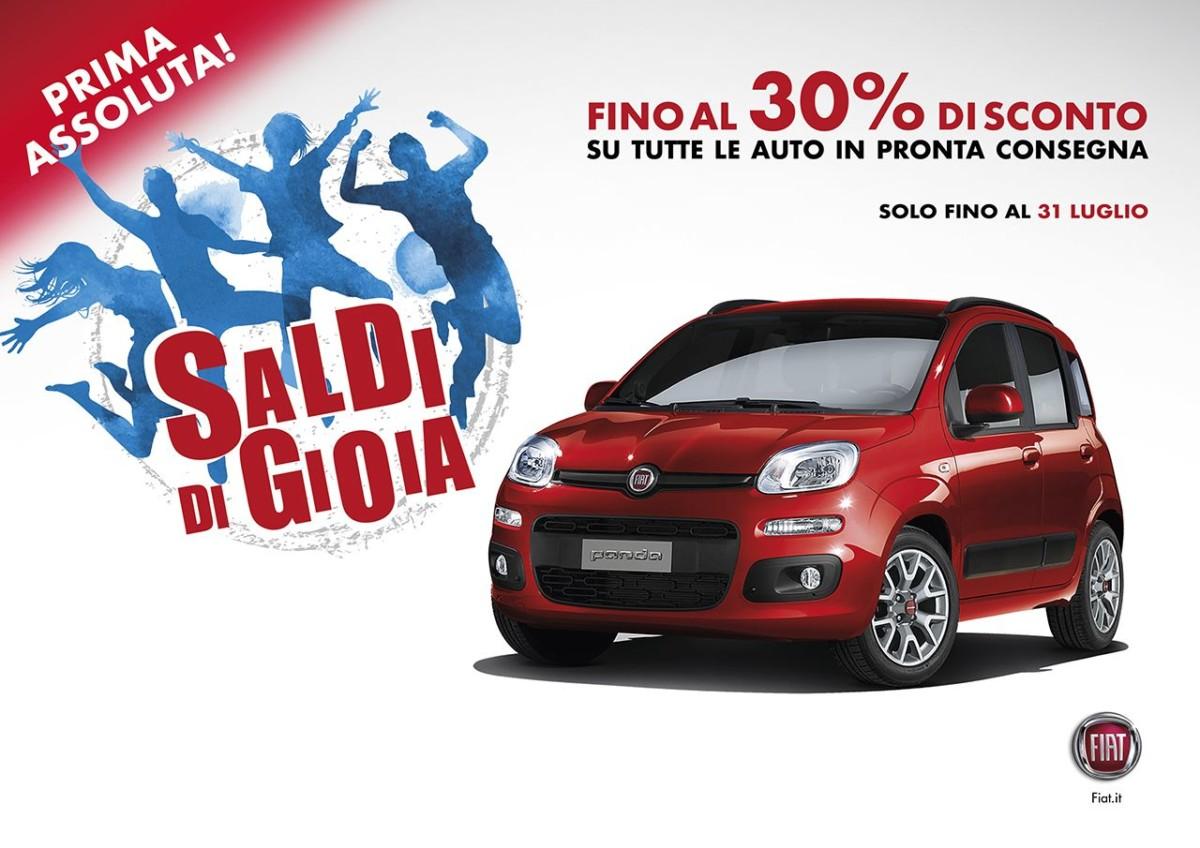 Da domani saldi per Fiat e Lancia