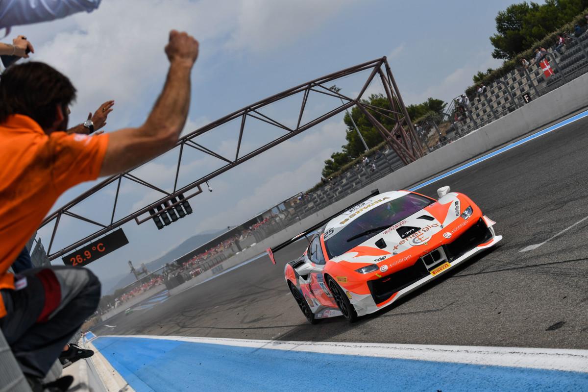 Ferrari Challenge: al Paul Ricard vincono Di Amato, Rocca e Hassid