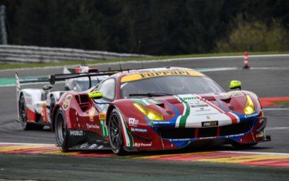 WEC: Rigon guida una pattuglia di quattro Ferrari