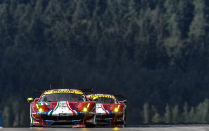 WEC: qualifiche in salita per le Ferrari al Nürburgring