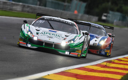 24 Ore di Spa: la Ferrari di Kaspersky Motorsport in pole
