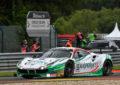24 Ore di Spa: Fisichella al comando con la 488 GT3