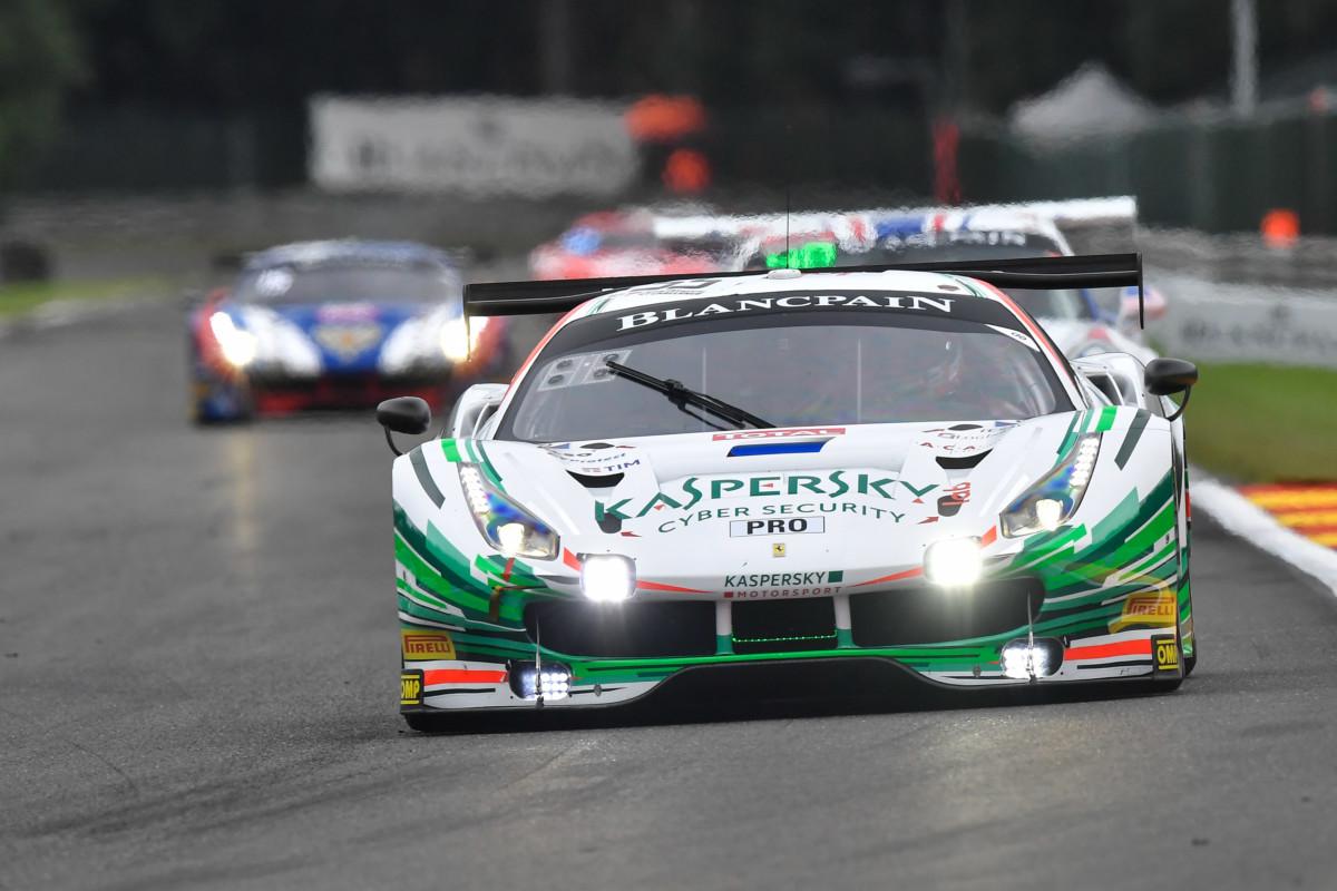 24 Ore di Spa: ritiro per la Ferrari di Fisichella