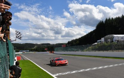 24 Ore di Spa: doppietta Ferrari in Am Cup