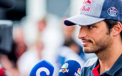 Sainz non ha intenzione di rompere con la Toro Rosso
