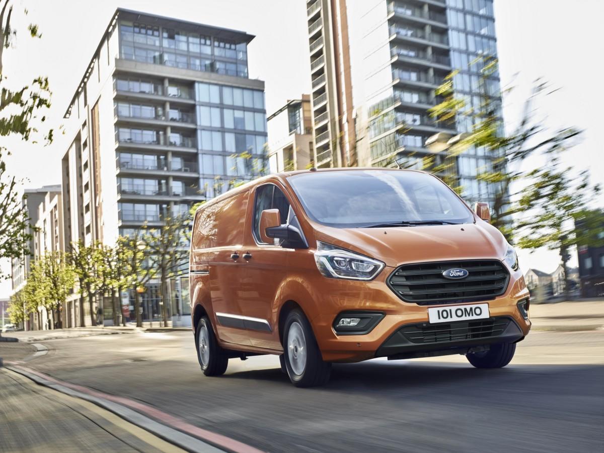 Nuovo Ford Transit Custom