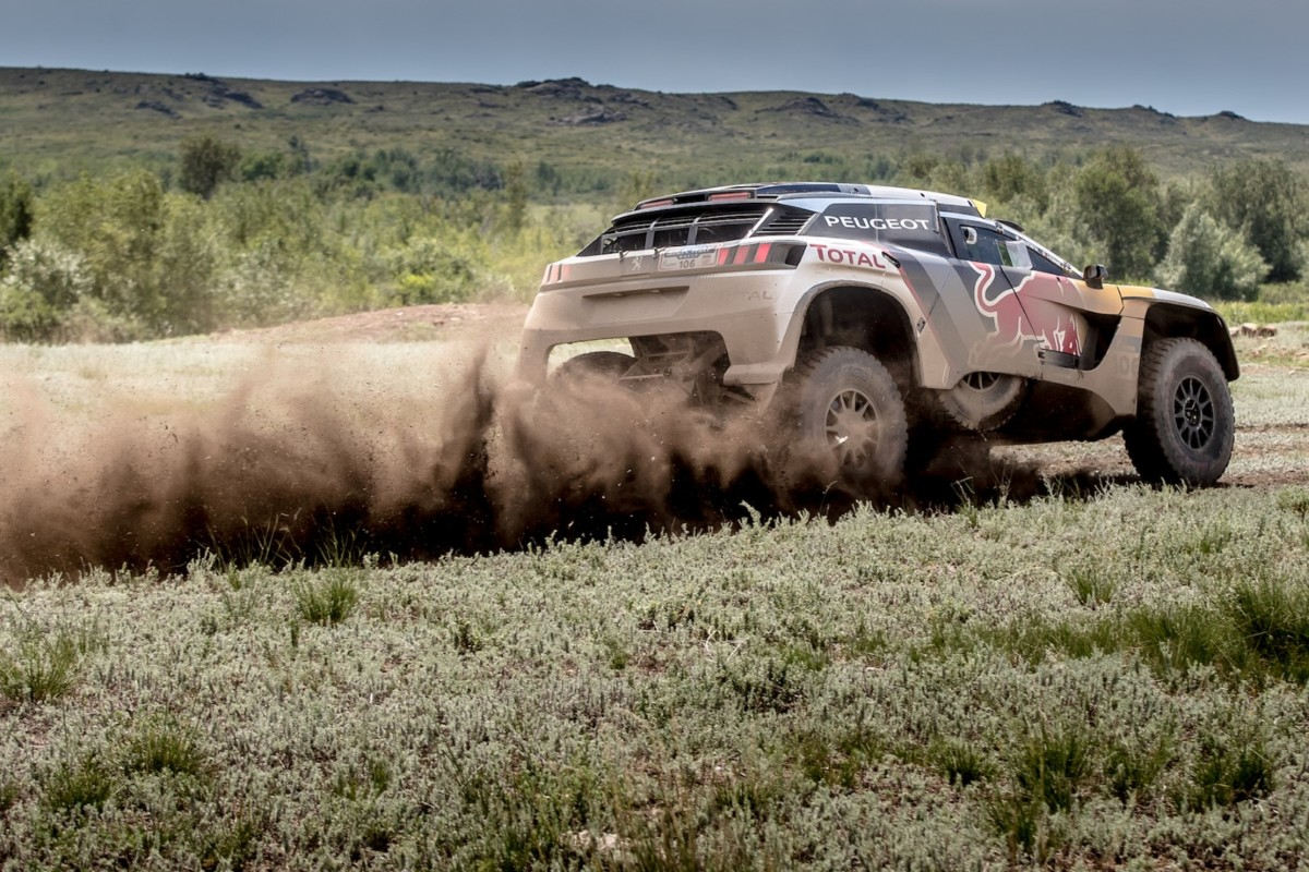 Peugeot protagonista al Silk Way Rally