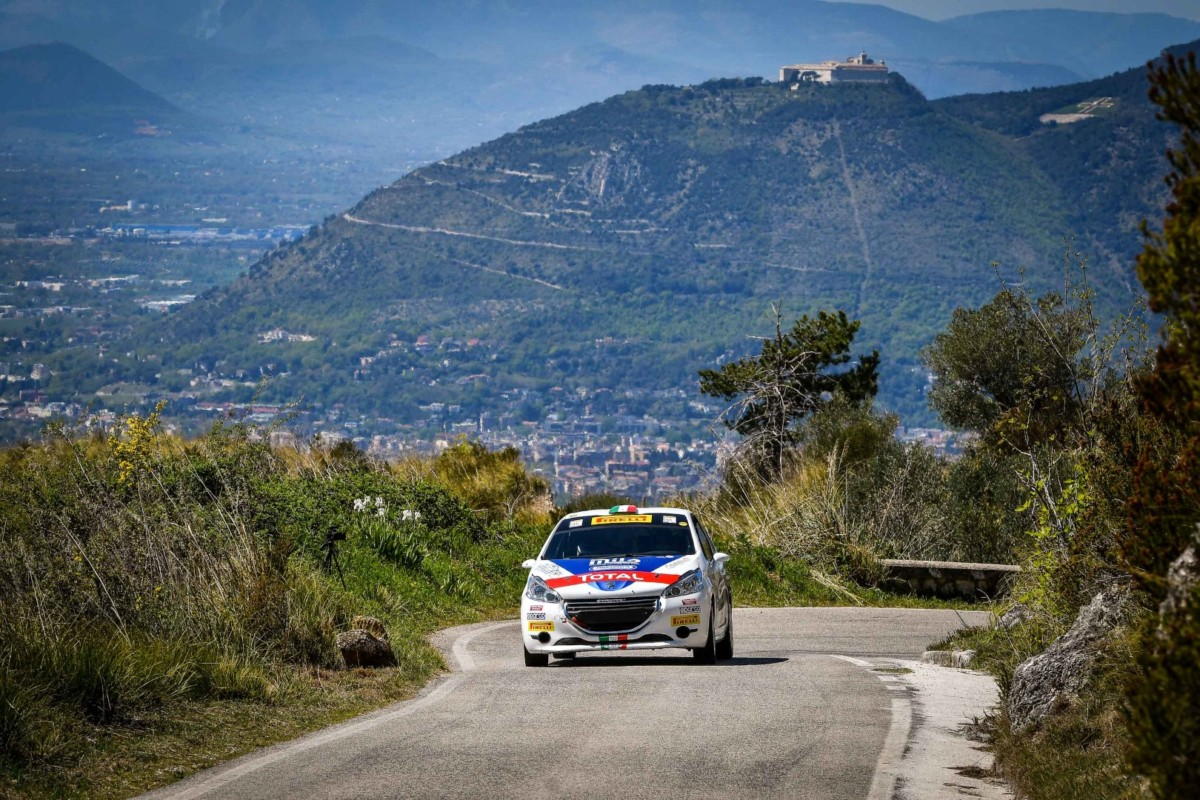 Peugeot Competition Rally 208 al Casentino