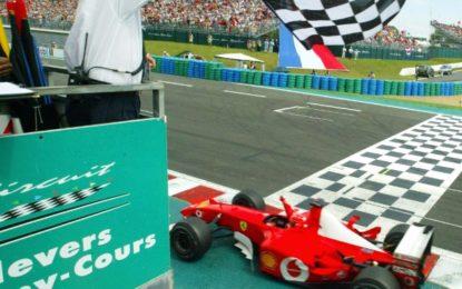 Un regalo per i 15 anni del Titolo di Michael Schumacher