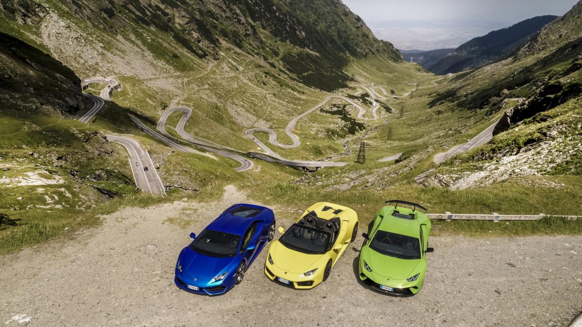 Lamborghini Huracán: sfida in Transilvania