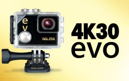 Nilox EVO 4K30: estate ad altissima risoluzione