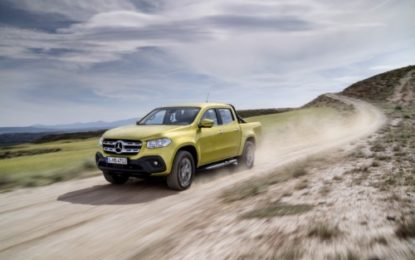 Mercedes Classe X: il primo pick-up premium