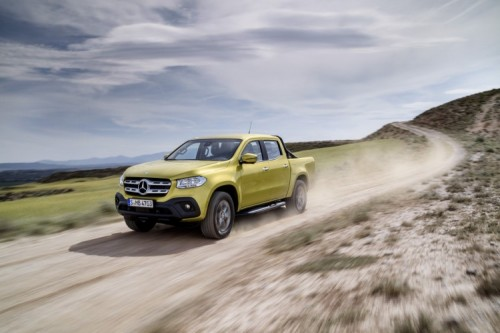 Mercedes Classe X: il primo pick-up premium