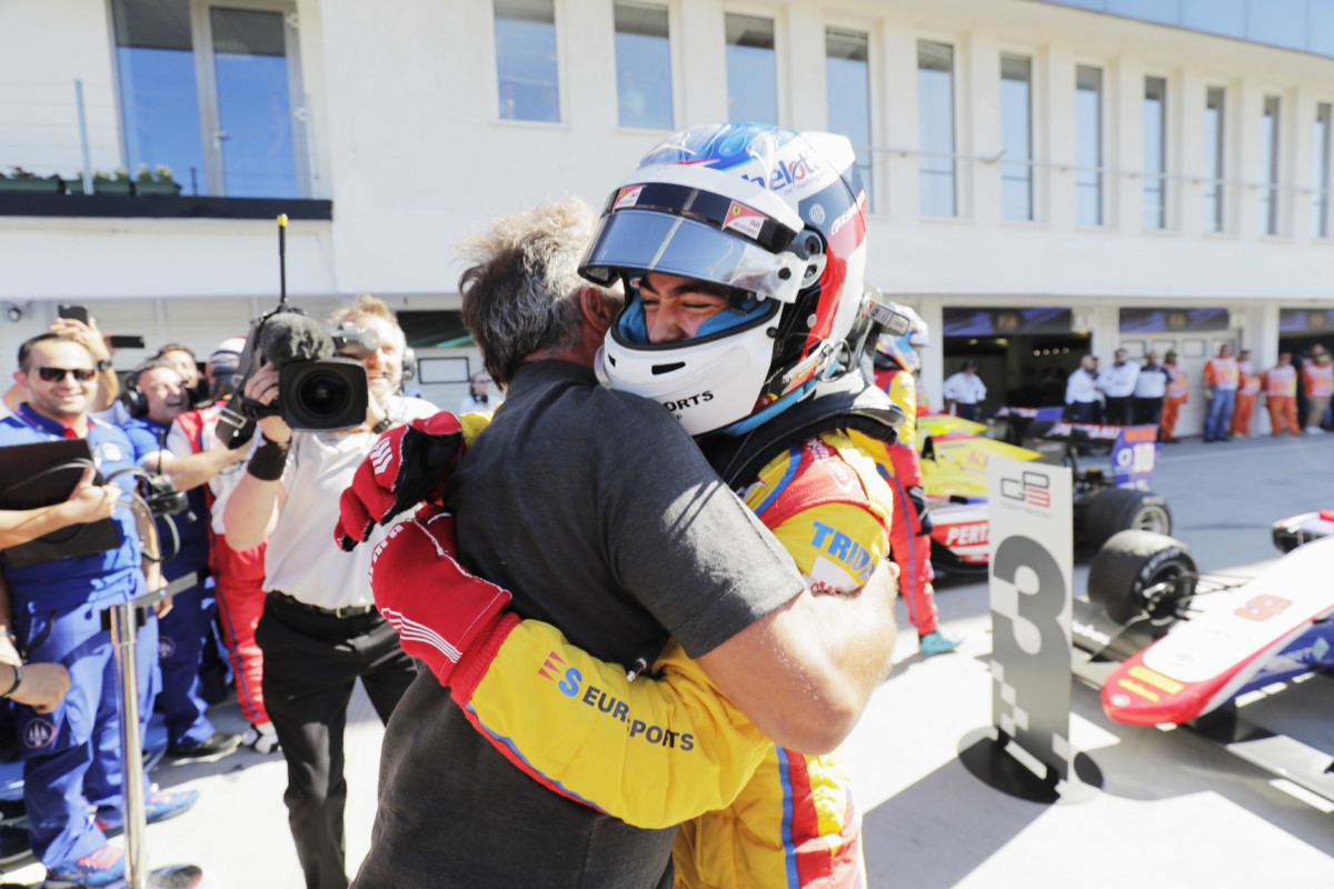 GP3: Alesi domina Gara 2 all'Hungaroring
