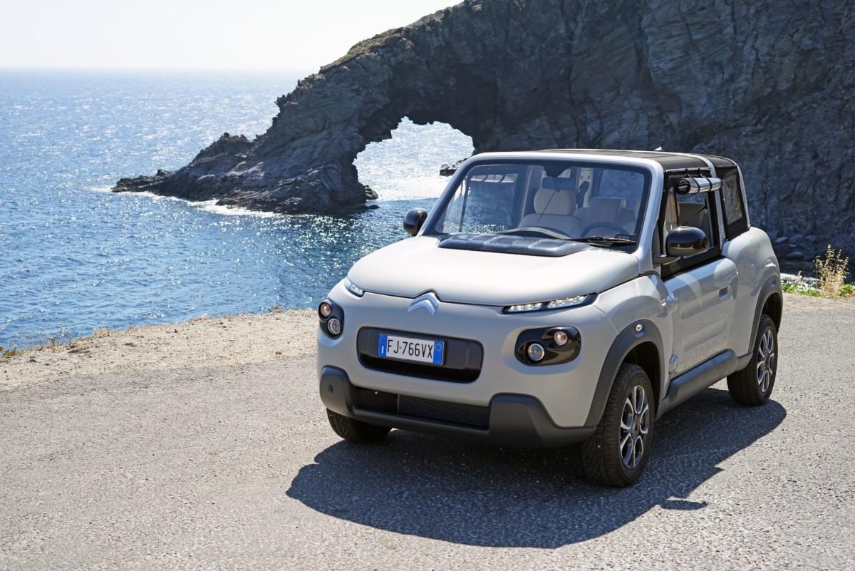 Citroën E-Mehari alla conquista di Pantelleria